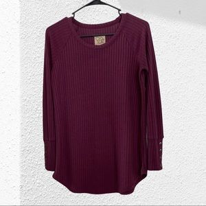 Chaser Waffle Thermal Long Sleeve sz SM